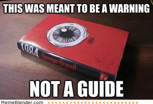 NSA 1984 not a guide