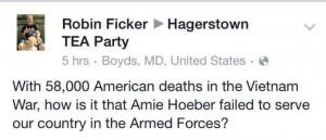 Ficker Vietnam attack on Hoeber