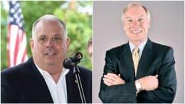Larry Hogan and Peter Franchot