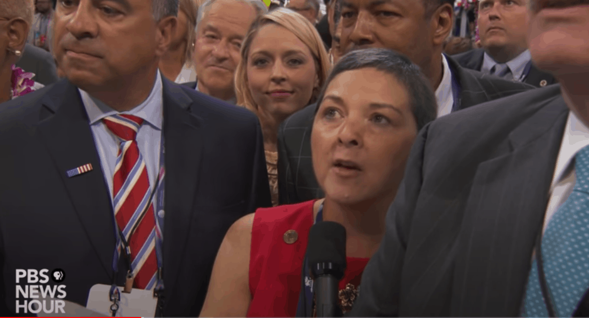 Diana Waterman at the 2016 Republican National Convention